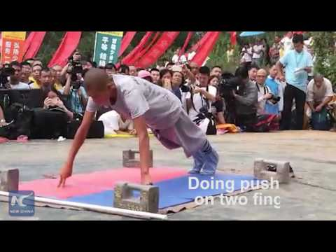 72 arts of Shaolin: First ever Shaolin Kung Fu competition held at Shaolin Temple in Mt. Song