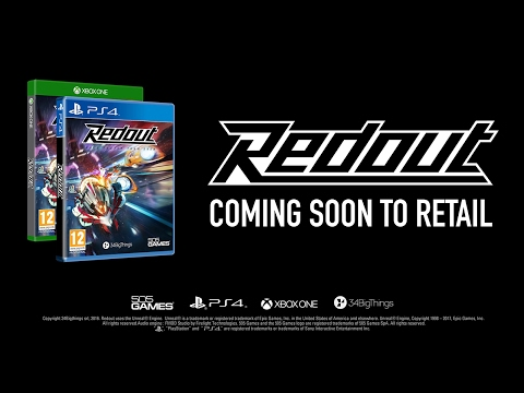 Redout PlayStation 4/Xbox One Retail Announcement trailer [PEGI]