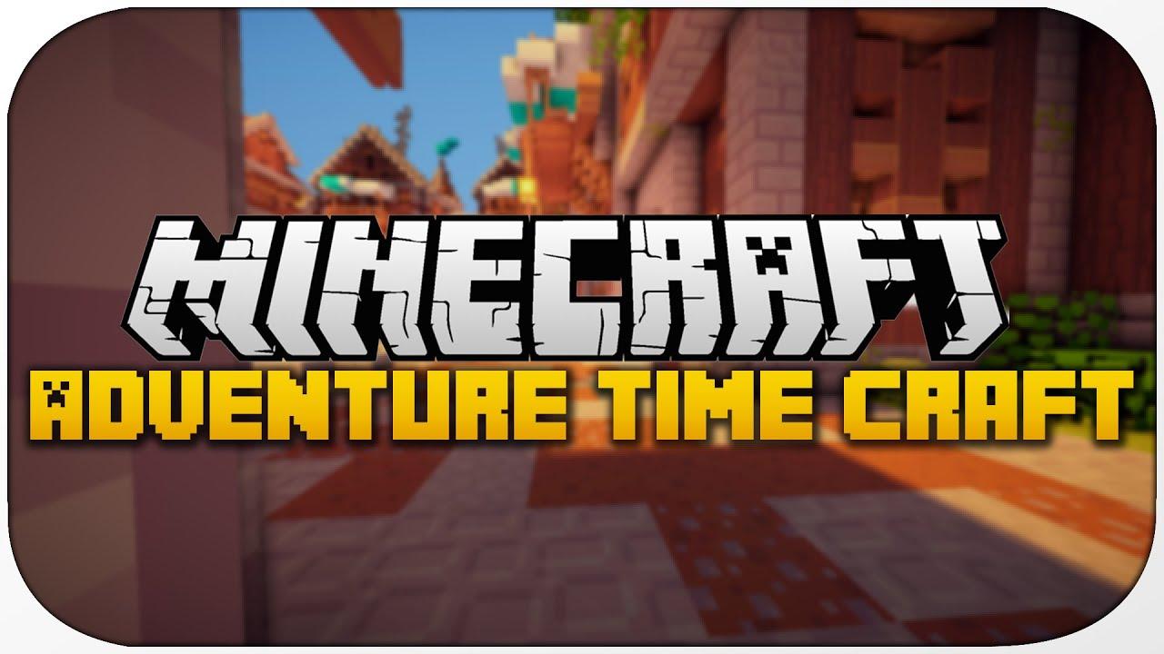 Minecraft Adventure Time Craft Texture Pack / Adventure Time Craft Resource Pack 1.8 Review ...