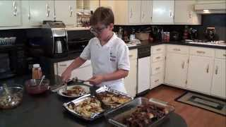 Cooking With Kade Cranberry Chicken For His New Easy, Healthy, Affordable Recipe Series
