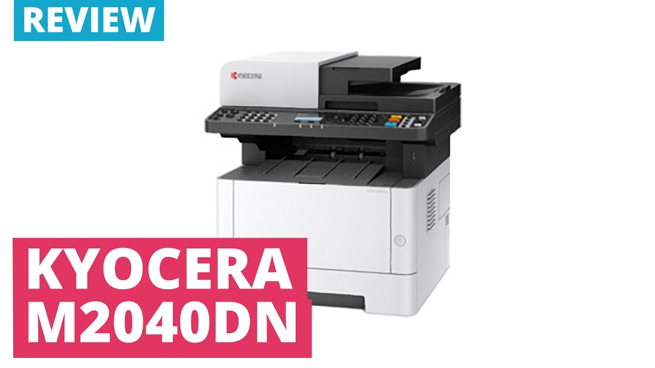 Kyocera ECOSYS M2040dn A4 Mono Multifunction Laser Printer
