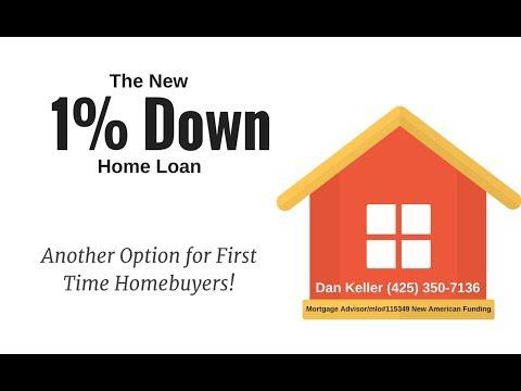 1% Down Home Loan Program Everett, Washington