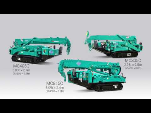 MAEDA SPIDER CRANES  ~Larger Models~