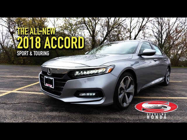 All New 2018 Honda Accord Touring First Look Walk Around Sterling Honda