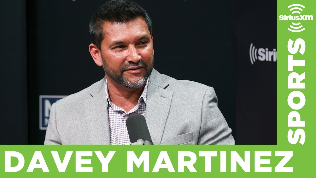 Davey Martinez Picks the Nationals Player that Would Make the Best Manager