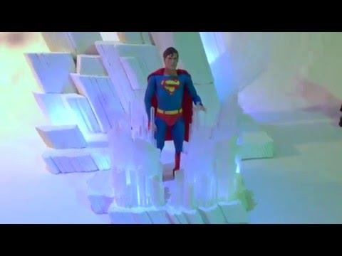 Superman – Fortress of Solitude diorama