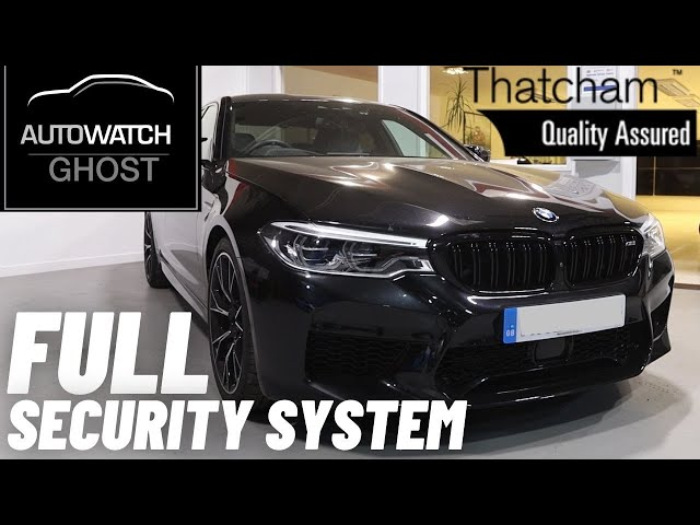 BMW M5 | Full Security Upgrade | Ghost 2 | Tracker | Dash Camera