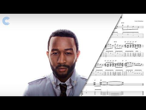 Tenor Sax - All of Me - John Legend - Sheet Music, Chords, & Vocals