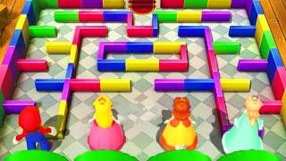 Mario Party 10 - Minigames - Mario vs Peach vs Daisy vs Rosalina (Master CPU)