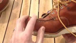 RED WING 875 Moc-Toe 6 inch Boots - 6 MONTH REVIEW