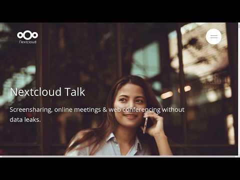 ATeletraballo: Pílula sobre reunións e conferencias online con Nextcloud Talk