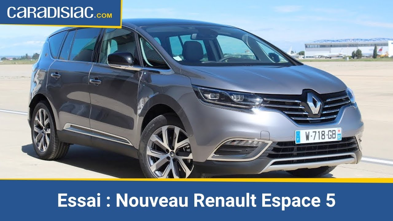 essai nouveau renault espace 5 la rupture youtube. Black Bedroom Furniture Sets. Home Design Ideas