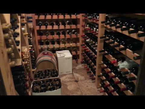 DIY How to Build a Wine Cellar