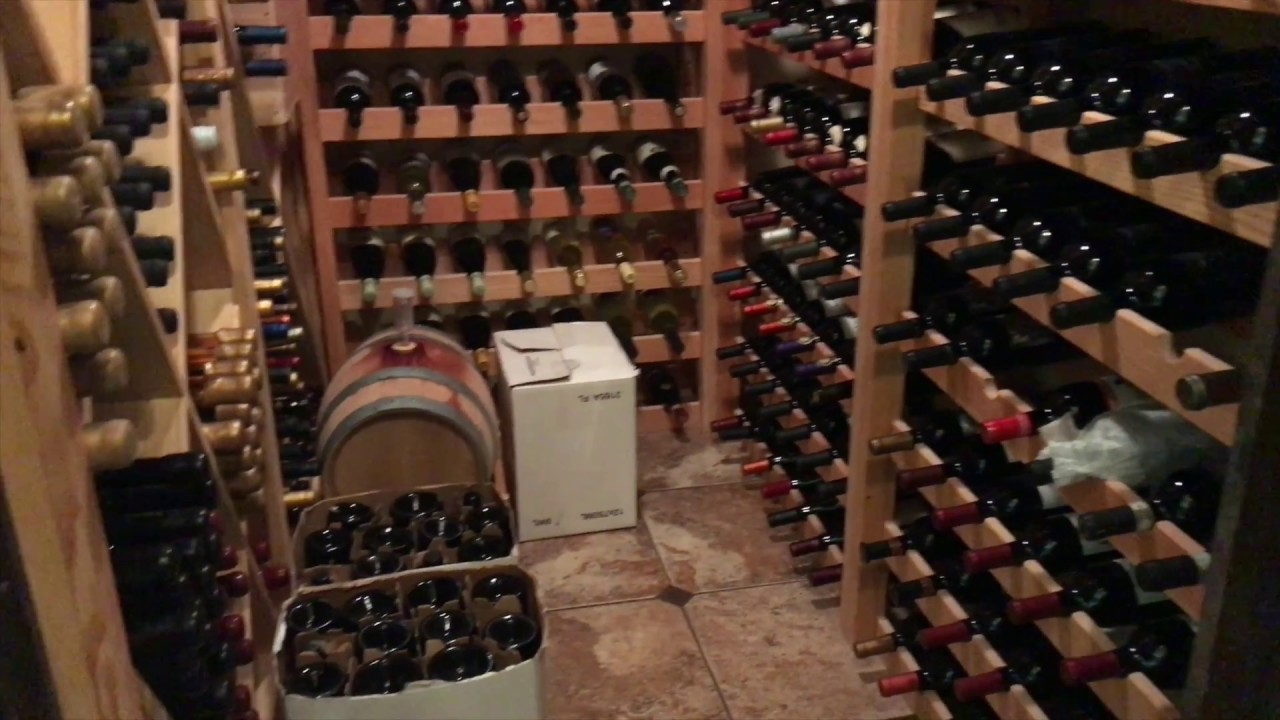 Diy how to build a wine cellar youtube for Build a wine cellar