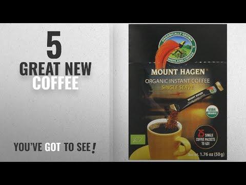 Top 10 Mount Hagen Coffee [2018]: Mount Hagen Organic Instant Regular Coffee, 25 Count Single Serve
