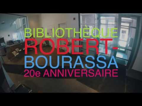 20e anniversaire de la bibliothèque Robert-Bourassa