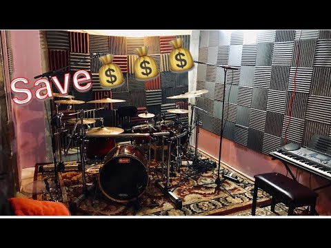 Recording on a Budget Part 1: HOW TO SETUP A CHEAP RECORDING STUDIO!