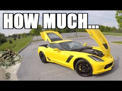 How Much Did The Z06 Cost Youtube