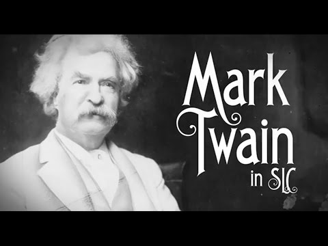 Salt Lake City History Minute - Mark Twain meets Brigham Young