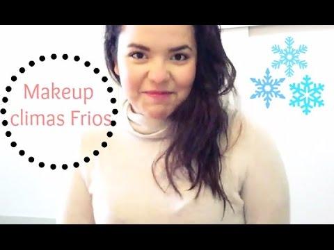 Maquillaje para climas Frios y Lluviosos