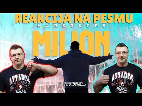 MARKO KOFS – MILION (Official Music Video) *MOJA REAKCIJA