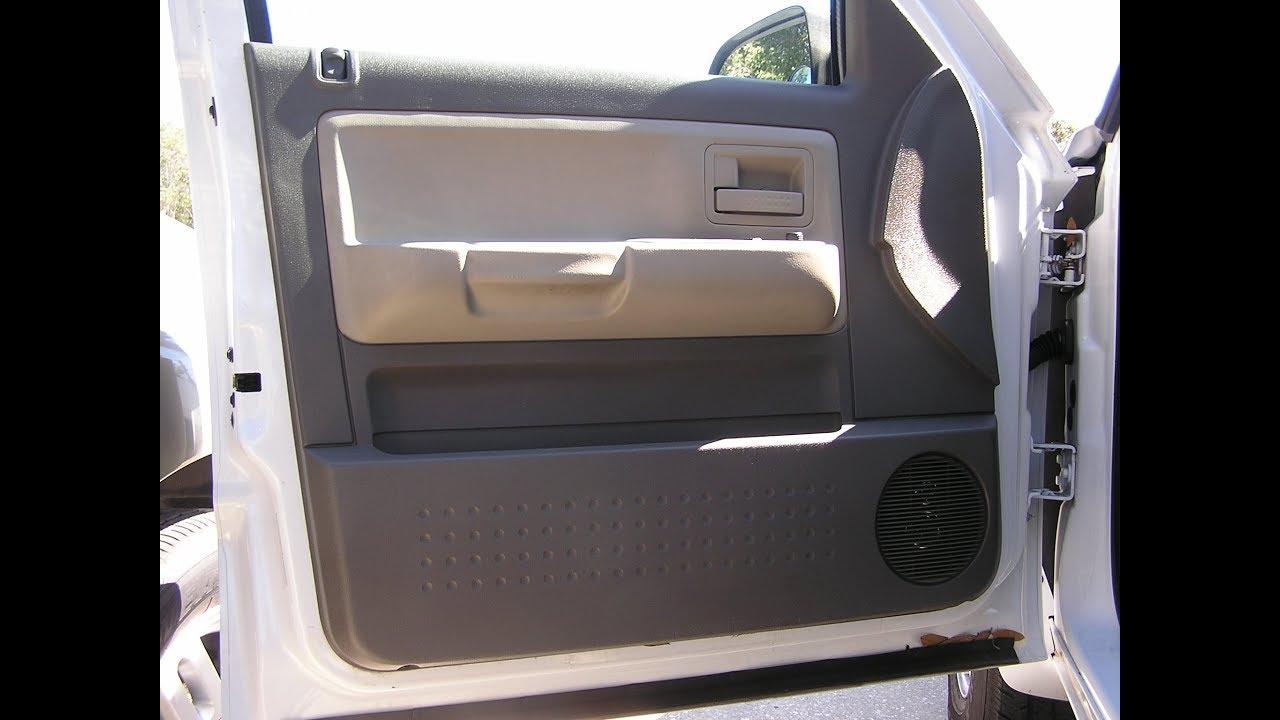 Dodge Dakota Removing Speaker Front Door