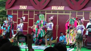 Thai Village 2013 - Thai classical dance 7 (Isan)