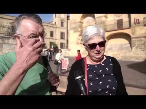 La opinión de comerciantes y turistas sobre el Coronavirus