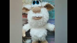 Обзор вязаная игрушка домовёнок Буба