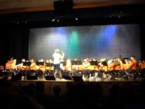 Deering Middle School Honors Band -Variations on a Sailing Song