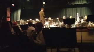 Wind Ensemble Holiday concert, Dec 8