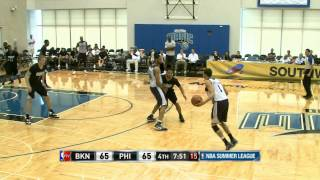 Brooklyn Nets vs Philadelphia 76ers Summer League Recap
