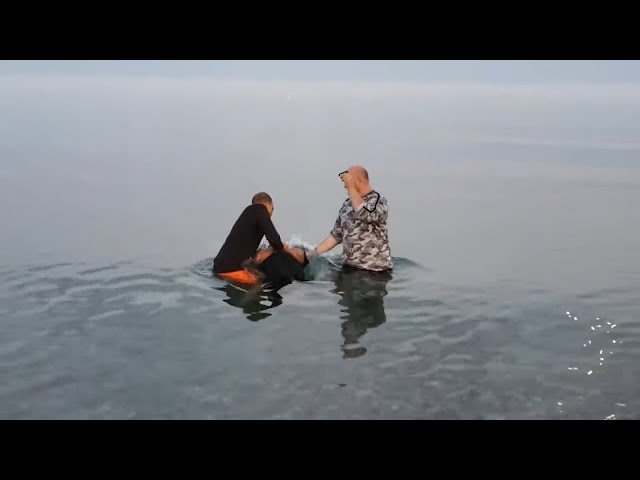Baptism in JESUS name at Lake Ontario