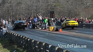 No Prep Street Outlaws & Fat Tuesday Shoot Outs & Grudge Feb. 6-9th 2016 Hub City Drag Way