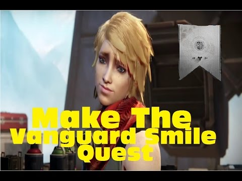 Destiny - Make The Vanguard Smile Quest