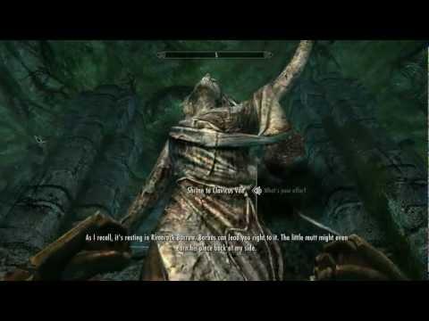 Skyrim: Talking Dog Quest