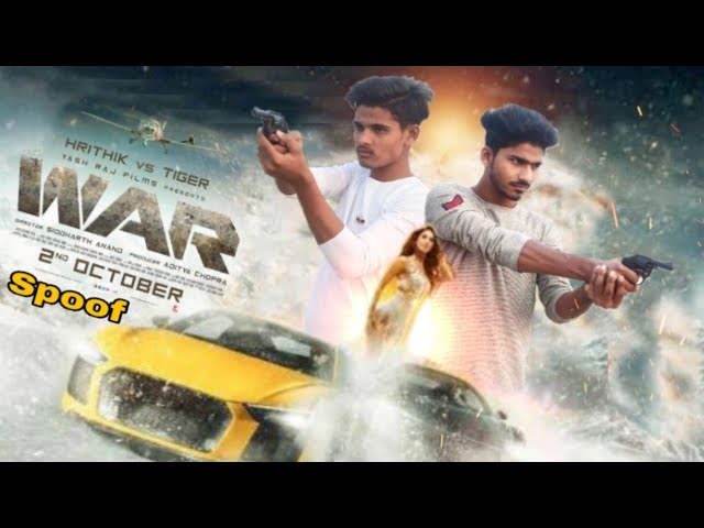 War Trailer | war trailer spoof | war spoof | Hrithik Roshan | Tiger Shroff | PUNIT TIGER
