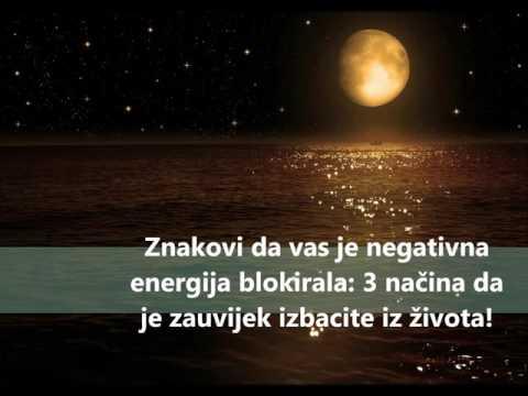 Znakovi da vas je negativna energija blokirala, 3 načina da je zauvijek izbacite iz života!