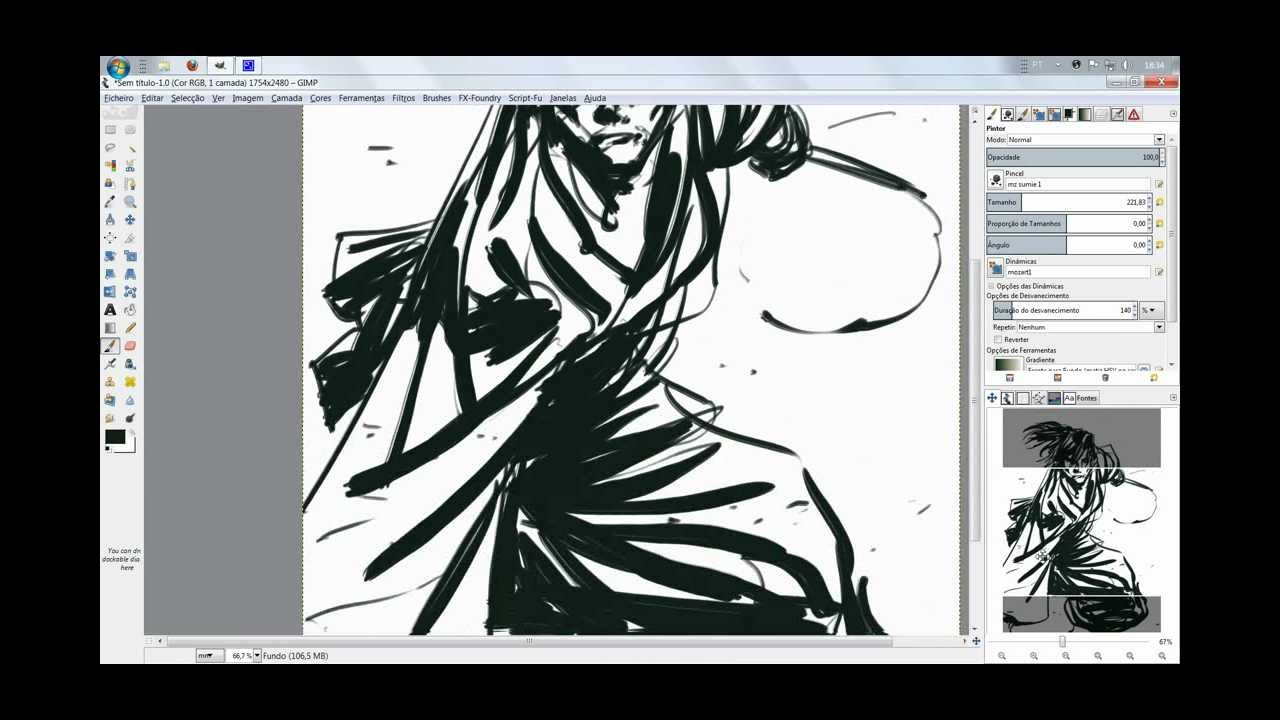 how to make a digital drawing on photoshop