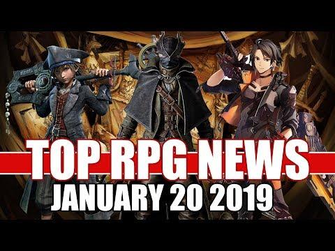 Top RPG News of the Week - Jan 20 2019 (God Eater 3, Bloodborne, ESO) Mp3