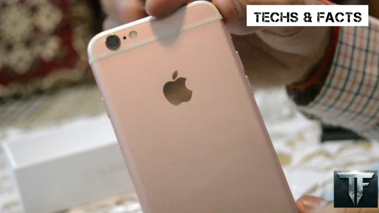 iphone 6s 32 gb rose gold unboxing reviews and features iphone 6s rose gold youtube. Black Bedroom Furniture Sets. Home Design Ideas