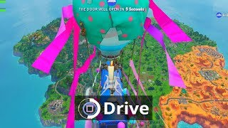 Default Skin hacker is able to drive Battle Bus on Fortnite...
