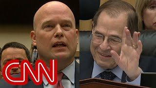 Download Audible gasps as Matthew Whitaker clashes with chairman Mp3 and Videos