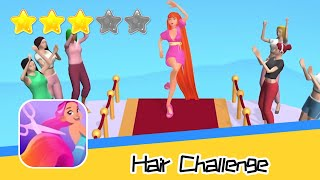 Hair Challenge Walkthrough Stay away from scissors Recommend index three stars
