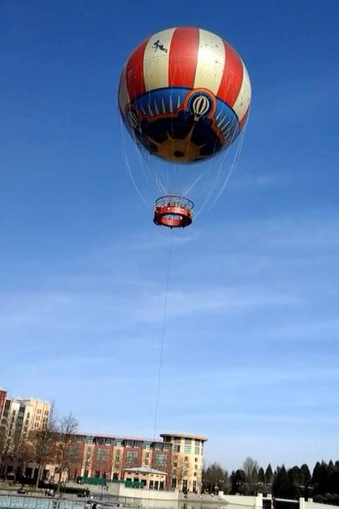 Disneyland Paris- Air Balloon 3/2015 - YouTube