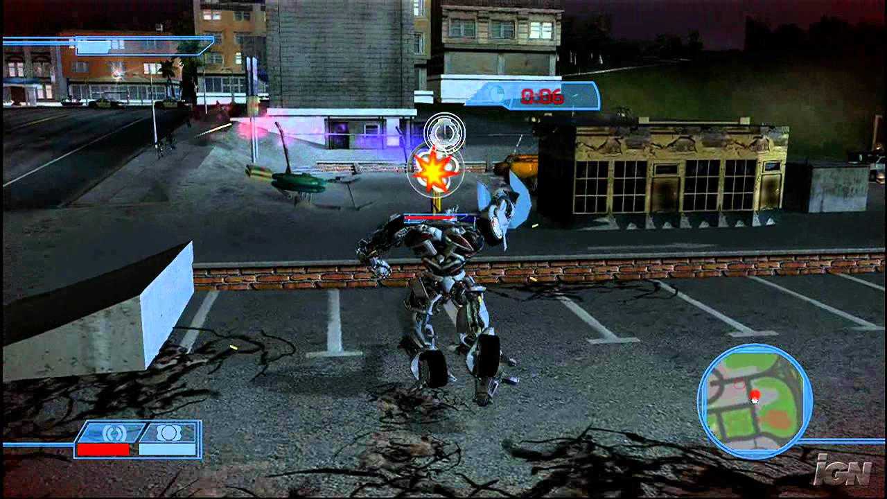 Movie Games For Ps3 : Transformers the game playstation review video