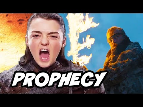 Game Of Thrones Season 8 - Arya Stark Melisandre Prophecy Explained