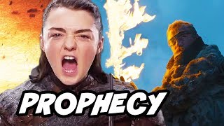 Game Of Thrones Season 8 - Arya Stark Melisandre Prophecy Explained