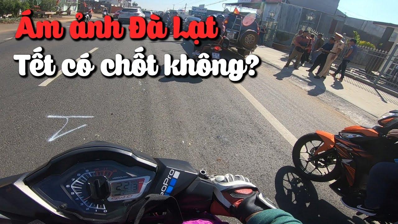 Ám ảnh kinh hoàng khi bào tour Đà Lạt dịp Tết | Vlog Phượt #17 | MinC Motovlog