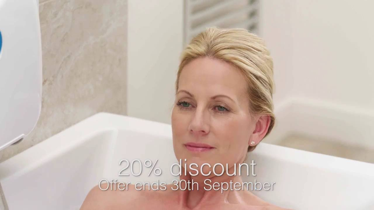 NEW! AquaLift® Bathlift TV Advert - YouTube